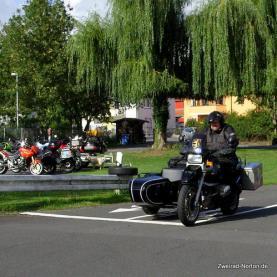 bvhk Gespannfahrlehrgang - auf dem ADAC Übungsplatz in Reinheim können Fahrsituationen ausgiebig getestet werden.